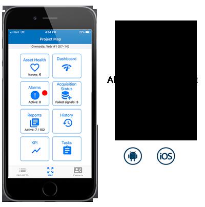 Surveillez votre actif en équipe réelle avec notre application mobile - SPN